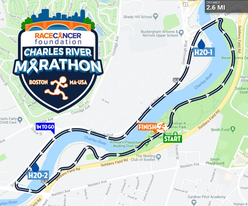 Charles River Marathon – RACE Cancer Foundation on